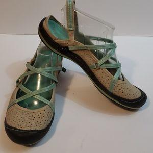 JAMBU JBU Oceanic Slingback Strappy Sandals size 8